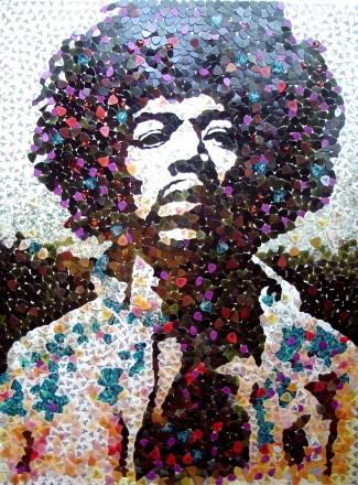 Jimi Hendrix portrait1